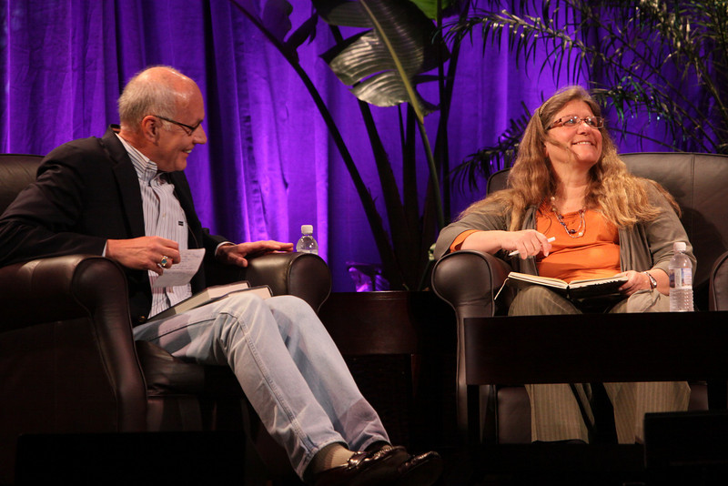 """""""Looking Further"""": Host Glen Hiemstra, Founder and Owner, Futurist.com; and Brenda Cooper, Science Fiction Author and CIO, City of Kirkland, Washington"""