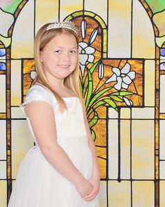Sydney Reese Communion 2021