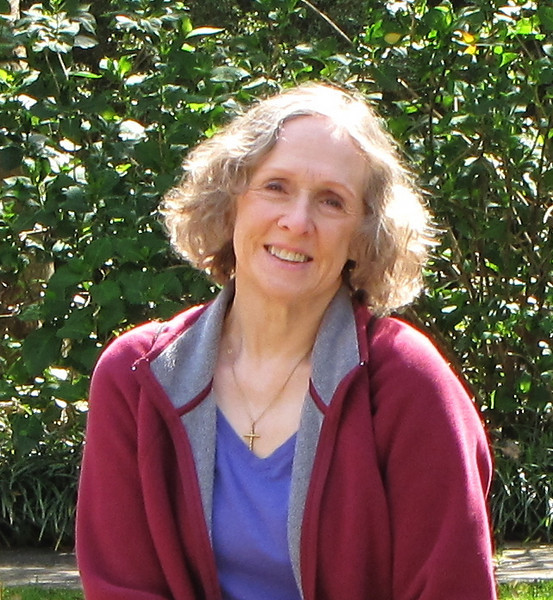 Donna at Peace Fountain - Brookgreen Gardens, Murrells Inlet, SC 3-25-11