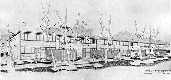 1952, Elysian Park Heights Rendering
