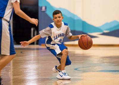 LHHS Basketball Blue & White Game 11-9-17