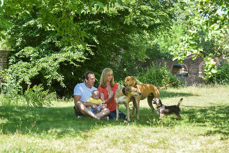 Natasha, Ryan and Annabelle.  Chessington 05.07.2017 Photography bt Sophie Ward