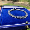 10.50ctw Round Brilliant Diamond Tennis Bracelet 36