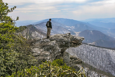 north fork mountain, march 2005