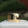.30ct Rose Cut Diamond Cigar Band 9
