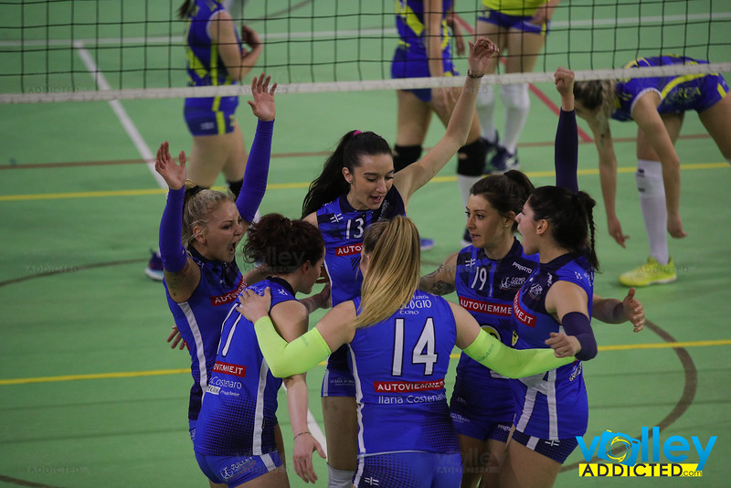 Virtus Cermenate 0 - Cd Transport Como Volley 3 25^ Giornata Serie Df 2018/19 Lombardia Cermenate (CO) - 27 aprile 2019