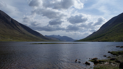 Scouting out Loch Etive