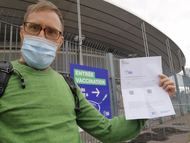 Photographe de Mariage Vacciné contre le Covid-19