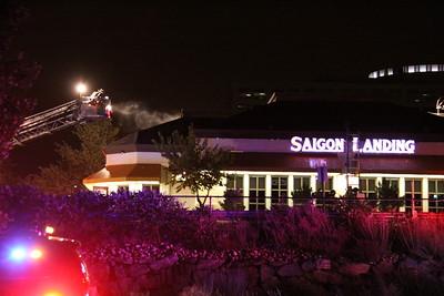Saigon Landing Roof Fire