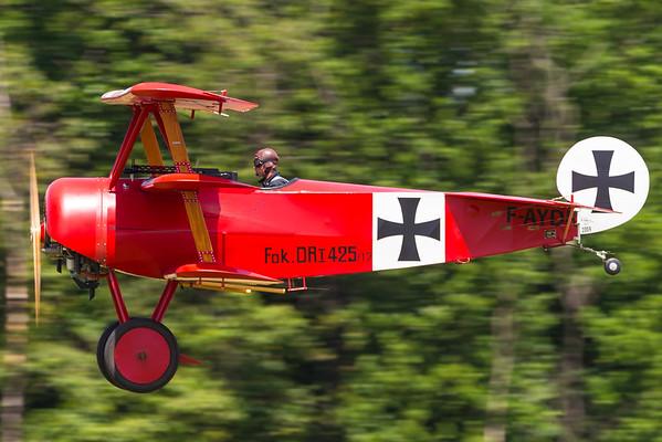 F-AYDR - Fokker DR1 Triplane replica
