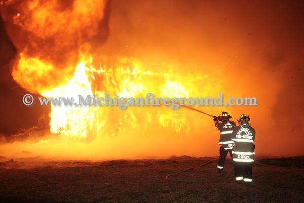 2/19/17 - Dansville prescribed burn, 1450 S. Williamston Rd