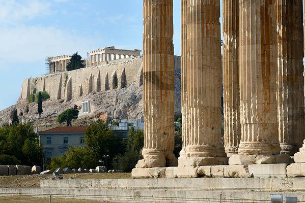 2017 10 06c Athens Temple of Olympian Zeus