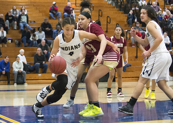 Newington Girls Basketball 2-13-20