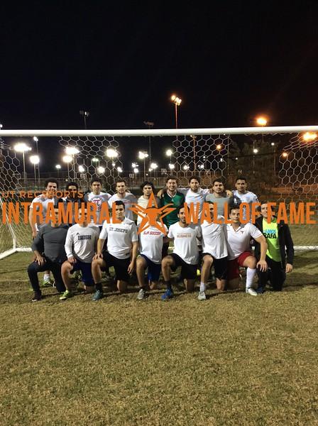 11v11 Fall 2017 Soccer Men's Champion F.C. Waza Veterans