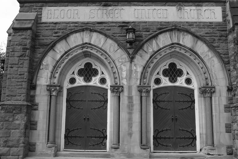 Bloor Street West In Black & White