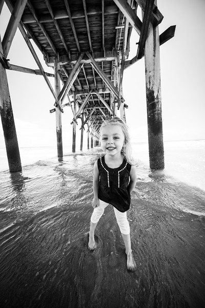 John B Family Beach Portraits at Topsail