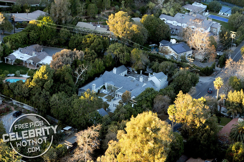 """Gwyneth Paltrow's $11 million """"House of Windsor"""" home in Brentwood, CA"""