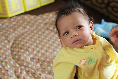 Baby Eli Brinkley Announcement Pics