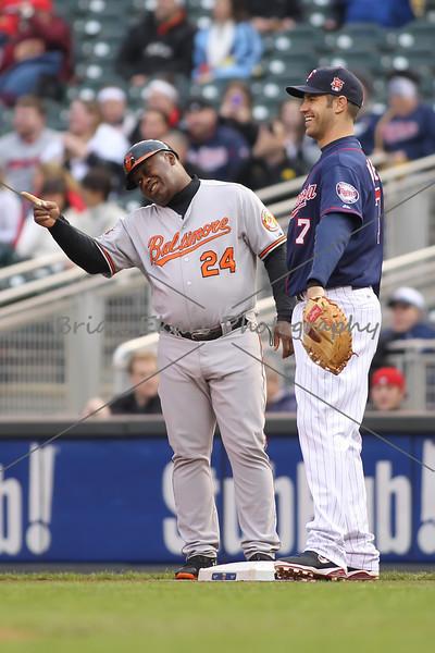 Twins vs Baltimore Orioles - 5/2/14