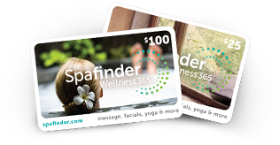 Gift Ideas for Travelers + Foodies | Spafinder spa gift cards
