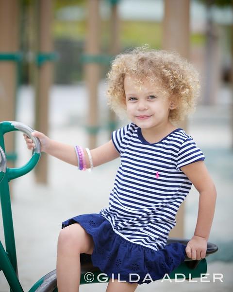 Ella and Harper at park