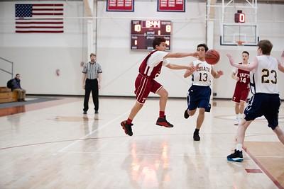 1/16/19: Boys' Thirds Basketball v Choate