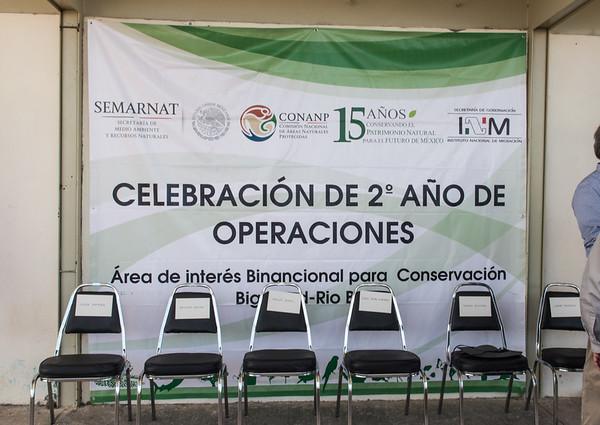 U.S. Secretary of the Interior Sally Jewel and U.S. Ambassador to Mexico Anthony Wayne at Celebración De 2 Ano De Operaciones