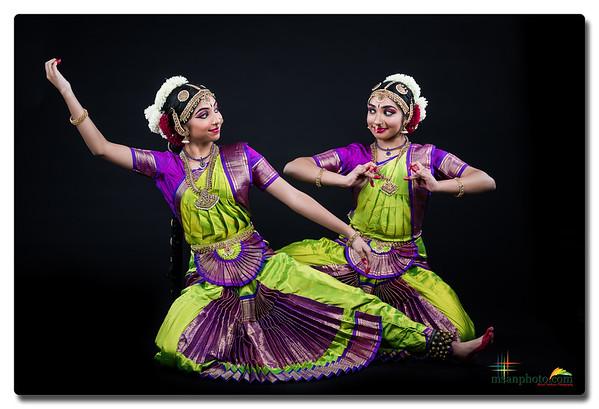 Advika & Ankitaa's Pre-Arangertam Portraits 2020