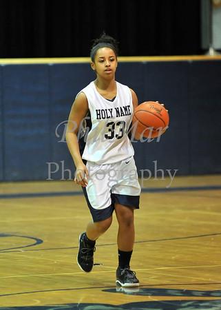 Central VS Holy Name Girls Basketball 2010 - 2011
