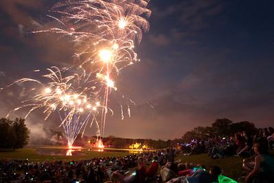 20130704 - Woodstock Fireworks at Emericson Park (KG)