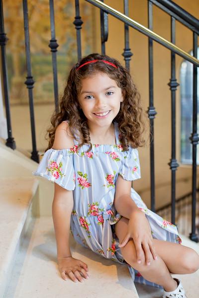 Evie 8th Birthday Portraits