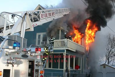 Revere, MA - 2nd Alarm, 516 Beach Street, 12-11-05