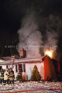Stony Brook Dr. Fire (Monroe, CT) 10/30/11