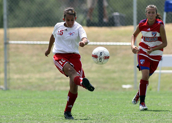 Texas Spirit 96 vs FC Dallas Black 96