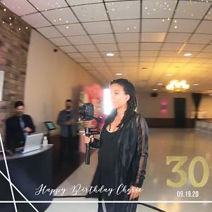 Cheries 30th Birthday