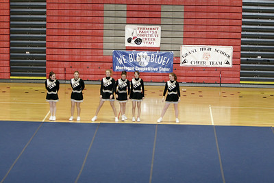 TriCounty Girls JV Competitive Cheer - 2006-2007 - 1/31/2007 League Meet at Fremont