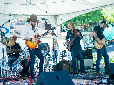 The Kenneth Brian Band at Mill Valley Block Party Oct. 1 2017