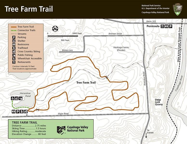 Cuyahoga Valley National Park (Tree Farm Area Trails)