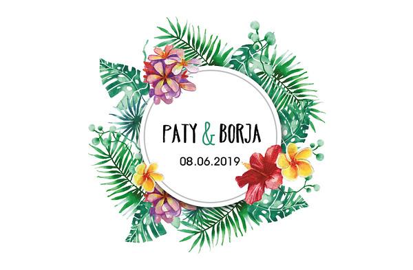 Paty & Borja - 8 junio 2019