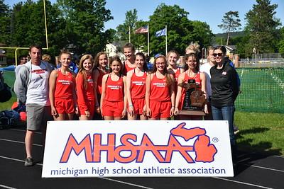GIRLS' AWARDS - 2018 MHSAA UP T&F FINALS