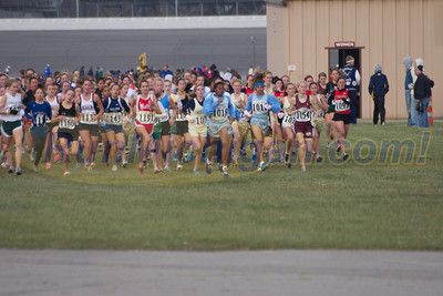 Girl's Division 1 - 2006 MHSAA XC LP State Finals