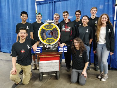 US Robotics at Yakima Regionals 3-15 to 3-16-19