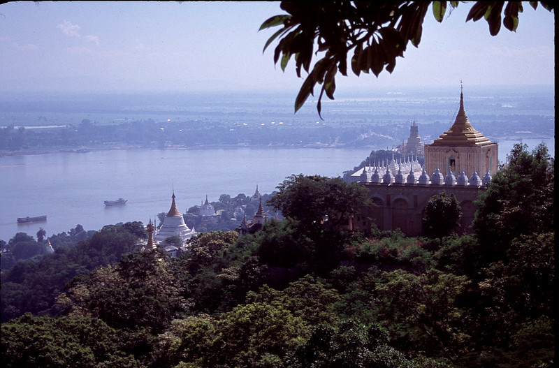 view from Mandalay Hill