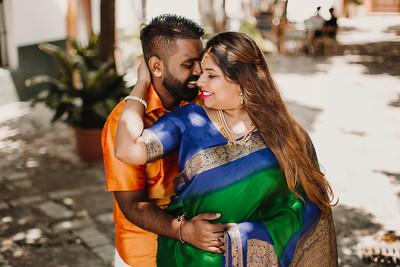 Jinie & Ganesh Alcazar