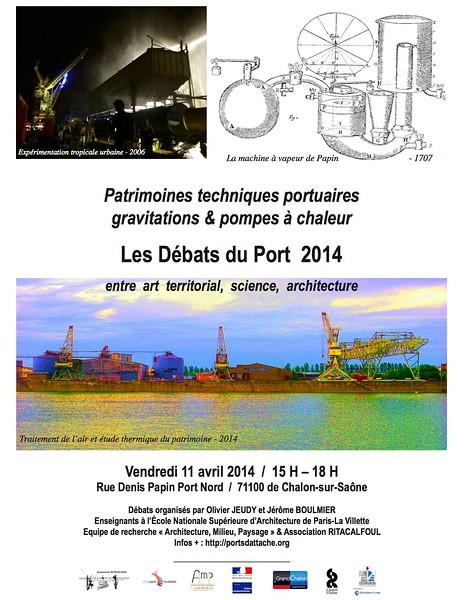 Debats du port 2014 affiche.jpg