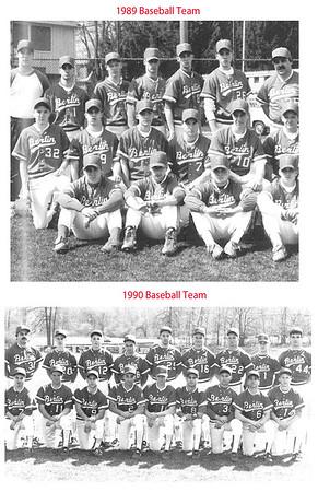 1989, 1990 Berlin baseball team