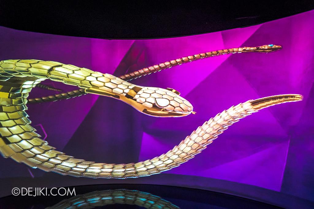 Bulgari SERPENTIform exhibition at ArtScience Museum - Make your own Serpenti