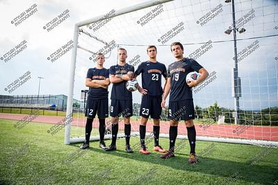 2017 Men's Soccer Captains