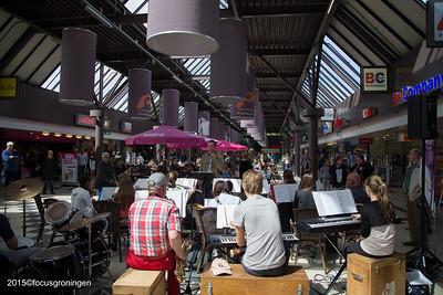 paddepoel 2015-winkelcentrum-rombout schoolorkest limburg