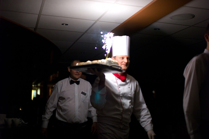 our dining staff's parade